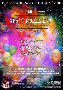 Tournoi Holi Volley 2019