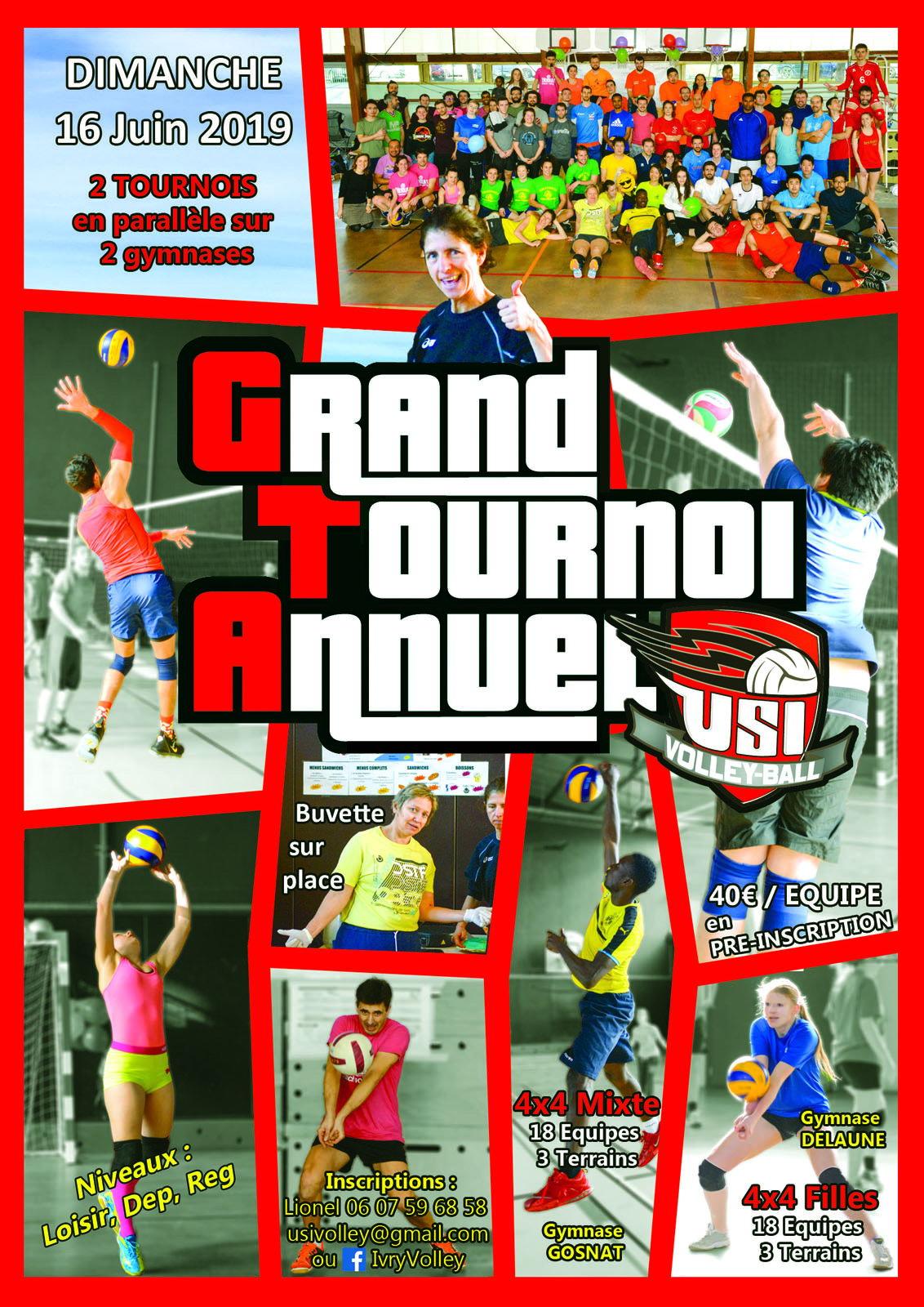 Résultat Grand Tournoi Annuel 2019
